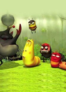 larva搞笑蟲子
