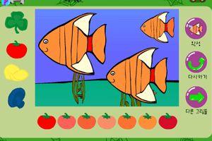 小鱼填颜色龙8娱乐国际