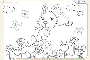 小白兔填颜色龙8娱乐国际