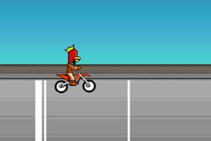 自行车赛小游戏