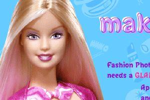 芭比娃娃化妆龙8娱乐国际
