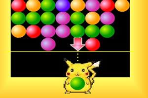 皮卡丘彩球小游戏