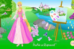 芭比公主换衣小游戏