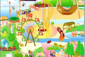 设计开心游乐园小游戏