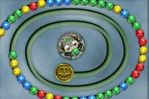青蛙祖玛小游戏