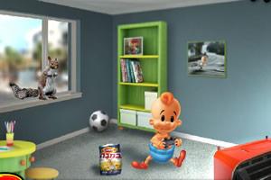 小婴儿逃出系列1小游戏