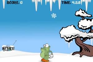 吃雪小怪物