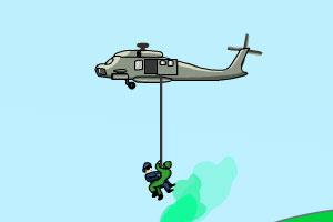 武装直升机解救人质龙8娱乐国际