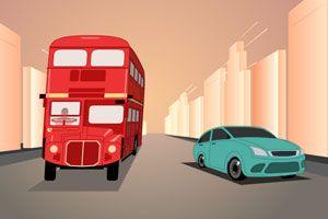 伦敦公共汽车小游戏
