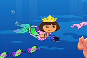 【朵拉美人鱼】小游戏下载-朵拉美人鱼免费在线玩-小