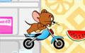 杰利极速摩托小游戏