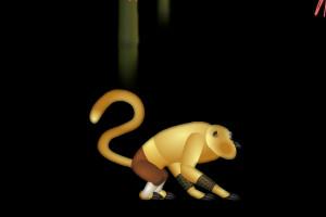 小游戏 功夫熊猫之金猴飞跃游戏下载,规则,高分攻略介绍 2345小游戏