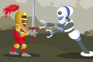勇士大战机器人小游戏