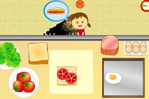 三明治快餐店小游戏