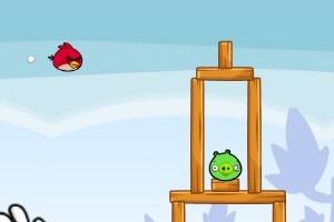 愤怒的小鸟高清版小游戏
