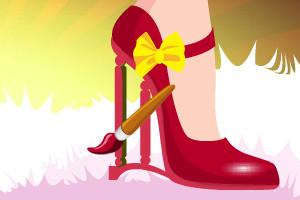 高跟美鞋设计小游戏