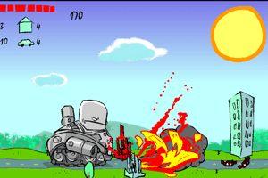 疯狂坦克II小游戏