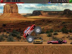 吉普车越野赛3小游戏