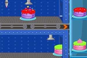 加工美味的蛋糕小游戏