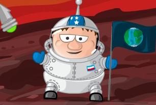 太空人冒险记小游戏
