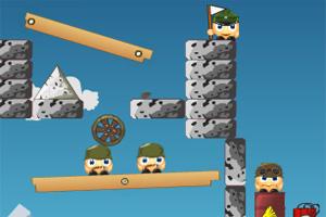 大炮士兵3小游戏