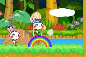 彩虹兔2小游��