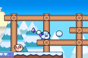 小雪人冒险小游戏