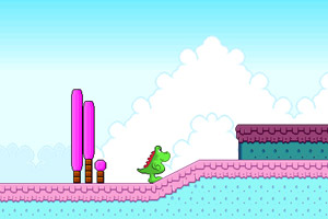 恐龙冒险小游戏
