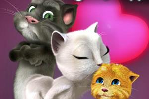 汤姆猫情人节小游戏