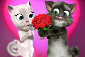 汤姆猫过情人节