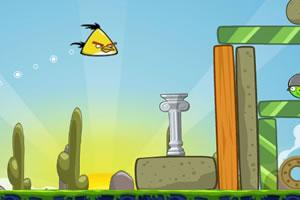 新愤怒的小鸟小游戏