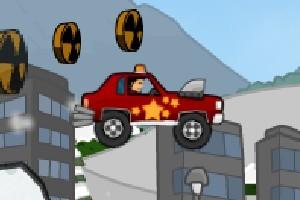 疯狂古董车大赛无敌版小游戏