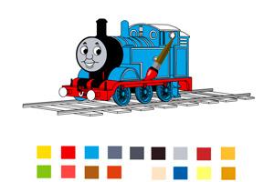 托马斯小火车涂鸦小游戏