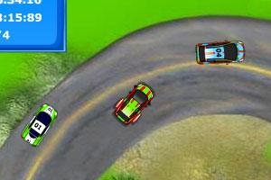 卡塔尔汽车拉力赛小游戏
