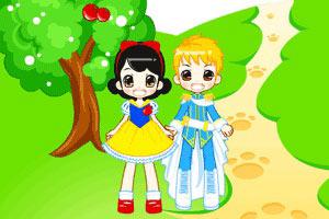 白雪公主和王子小游戏