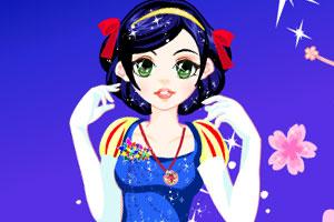 白雪公主靓丽装扮龙8娱乐国际