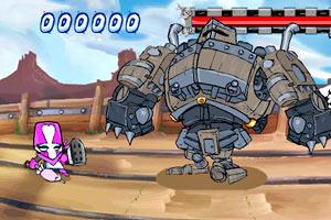 粉红战士小游戏