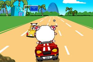 卡丁车小游戏