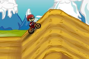 自行车越野小游戏