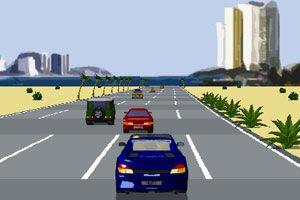 狂热飙车小游戏