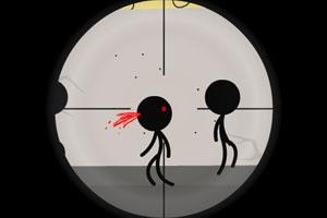 火柴人狙击1小游戏