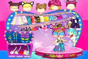 时尚性感宝宝小游戏