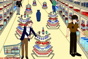 超市逃生小游戏