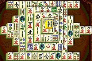 上海麻将连连看小游戏