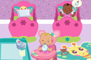幼儿园照顾小宝宝小游戏