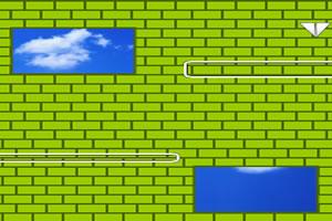 纸飞机下楼梯