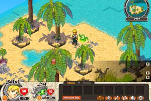 漂流岛征服记小游戏