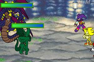 索尼克RPG大战4上小游戏