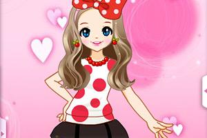 炫彩少女装小游戏