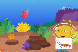 黄金海底乐园之捉迷藏图片